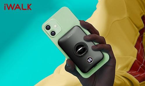 iWALK  咔嗒宝 一贴即合  磁吸+纳米 无线充电宝