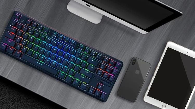 黑爵K870T热插拔键盘
