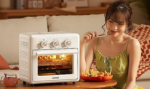 七彩叮当电烤箱家用小型烘焙一体机