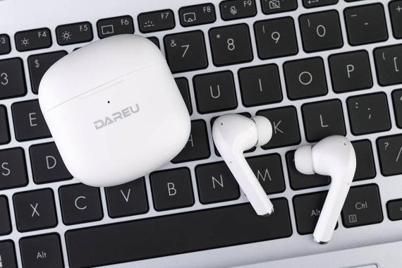 享受片刻宁静时光,无牵挂的舒适,达尔优ANC降噪D5 TWS耳机